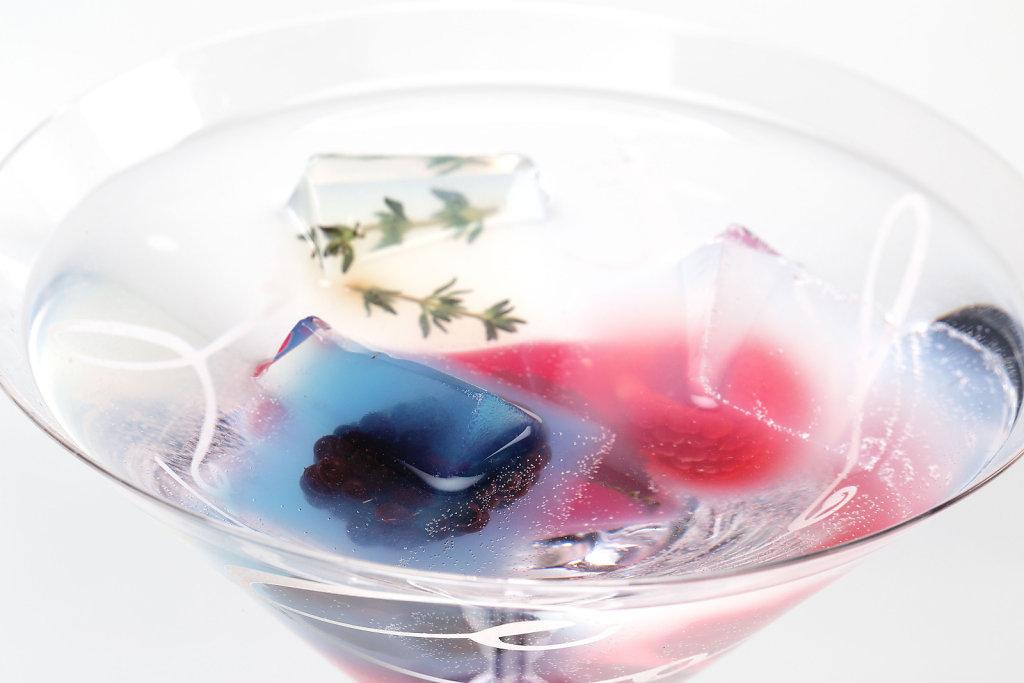 Frozen Fire Cocktails